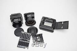Exc Fuji GX680 III Pro Medium Format with GX 80mm & 180mm Lenses & 120 Film Back