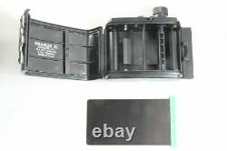Exc Graflex Crown Graphic 2 1/4 x 3 1/4 Camera with101mm F4.5, 120 Film Back #2632