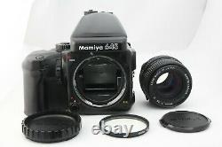 Exc+++++ Mamiya 645 Pro Camera + Sekor C 80mm f2.8N + 120 Film Back from Japan