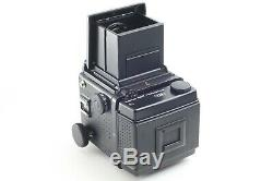 Exc ++++ Mamiya RZ67 PRO II Body Waist Level Finder 120 + 220 Film Back Japan