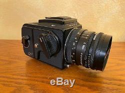 Excellent Condition Hasselblad 501c body, 80mm 2.8f lens, A12 Film Back
