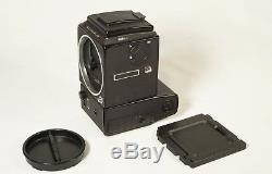 Excellent++ Hasselblad 555 ELD 3200 ISO medium format black camera body + back