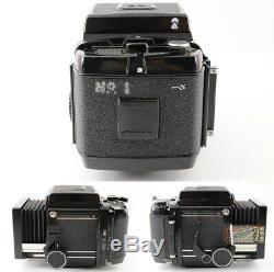 Excellent+MAMIYA RB67 ProS +Sekor C 127mm F/3.8 Lens 4Lens +120 Film Back JP