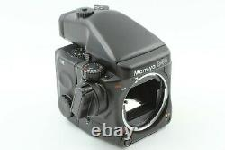 Excellent+++++ Mamiya 645 Pro AE Finder 120 Film Back with Strap From Japan #807