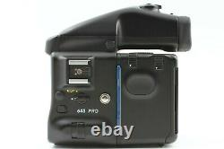 Excellent+++ Mamiya 645 Pro AE Finder 120 Film Back with Strap From Japan #807