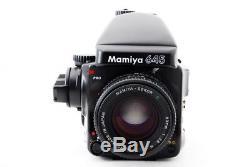 Excellent++ Mamiya 645 Pro with 80mm Lens, AE Prism Finder FE401, 120 Film Back