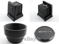 Excellent Mamiya RB67 Pro SD + K/L KL 127mm F/3.5 L Lens 120 Film Back JAPAN