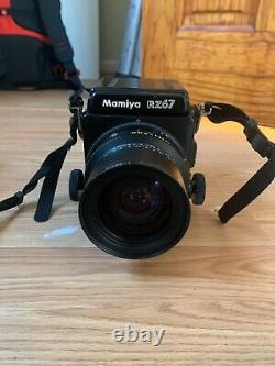 Excellent Mamiya RZ67 Pro with lenses, backs, and accessories