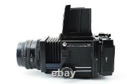 Exllent +5 Mamiya RB67 Pro SD + K/L 127mm f3.5 Lens + 120 Film Back JAPAN #301