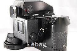 FEDEX NEAR MINT+++ ZENZA BRONICA ETRS BODY With AE II FINDER, 120 FILM BACK
