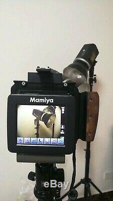 Fotoman camera, Medium format camera, for digital backs and Cannon lenses