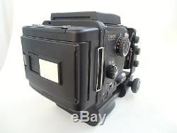 Fuji GX 680 III camera, GX M 125mm /f 5.6 lens, IIIN Rollfim holder (back)