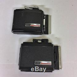 Graflex XL With Lenses & Film Backs And More Euc Check Photos