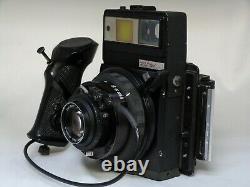 Graflex XL with 100 f3.5 Tessar and 120 Back