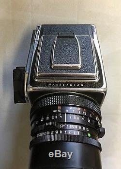 HASSELBLAD 500CM Camera Kit A12 Back + 60mm 3.5 CF T Distagon Zeiss + Hood