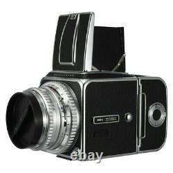 HASSELBLAD 500C FILM CAMERA CHROME + C 80mm F2.8 LENS + A12 I BACK KIT CLA'd