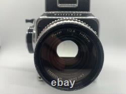 HASSELBLAD 500C KIT 500C + 80mm F2.8 LENS + A12 BACK + WLF + Flash Bracket