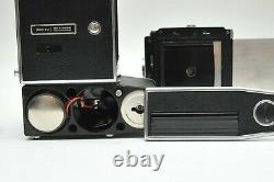 HASSELBLAD 500EL Medium Format Camera + 12 film back magazine + Battery Adapter