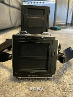HASSELBLAD 501CM FILM 80MM 2.8 CB LENS A12 BACK, Standard Focusing Screen