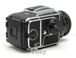 HASSELBLAD 503CW CHROME MEDIUM FORMAT CAMERA USED with 80MM CFE, A12 BACK & MORE