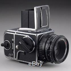 HASSELBLAD 503CXi 80mm f2.8 TPLANAR A12 FILM BACK ACUTE MATTE'D' SCREEN