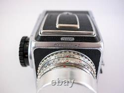 Hasselblad 1000F medium format camera kit with 3 lenses, 2 backs, and extras