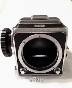 Hasselblad 1000 F Medium Format Film Camera with extra back