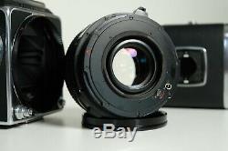 Hasselblad 2000 FC/M+ Planar 80mm 2.8 + Silver A12 Film back
