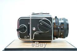 Hasselblad 201F Carl Zeiss 80mm F2.8 Planar T A12 Back Medium Format Camera-BB