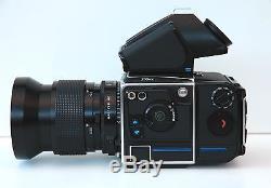 Hasselblad 205FCC Film Camera Distagon 50mm f/2.8 T film back 205 FCC