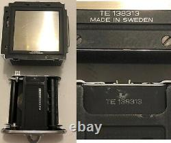 Hasselblad 500CM 80mm f2.8 Planar T C A12 back and more complete overhaul