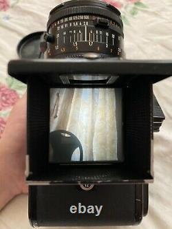 Hasselblad 500CM C/M Black + CF 80mm f/2.8 + A12 Back