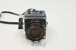 Hasselblad 500CM Medium Format Body with Carl Zeiss 80 mm CF T, A12 Film back