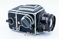 Hasselblad 500CM Medium Format SLR Film Camera + 80mm lens + Polaroid Back Kit