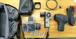 Hasselblad 500CM, Zeiss Planar 80mm Lens, Tenba Bag, Pentax Spotmeter, A24 back