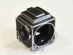 Hasselblad 500CM medium format camera kit with80mm f/2.8 Planar lens & Pol. Back