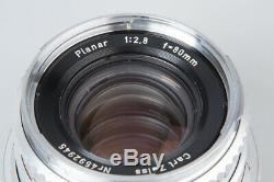 Hasselblad 500C 500 C Film Camera with Carl Zeiss Planar 80mm f/2.8 Lens, A12 Back