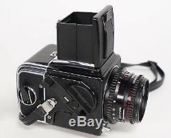 Hasselblad 500C/M 500CM 500 CM C/M Prism Finder 80MM Lens A12 Back 2.8
