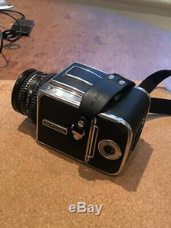 Hasselblad 500C/M + 80mm 2.8 Planar + A12 Film Back