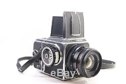 Hasselblad 500C/M Carl Zeiss 80mm F2.8 A12 Back Case Limited Edition Signed -BB