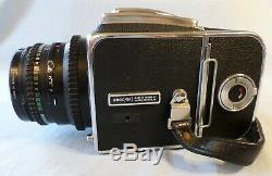 Hasselblad 500C/M Medium Format Camera with 80mm 2.8 T Planar + A12 Back VGC