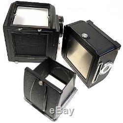 Hasselblad 500C/M Medium Format Film Camera with A24 Film Back Excellent Japan F/S