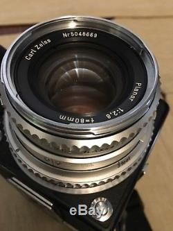 Hasselblad 500C/M Medium Format SLR Film Camera with 80 mm lens Kit and A12 back