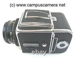 Hasselblad 500C/M With Carl Zeiss 80mm T Lens and A12 Back, Waist RECONDITIONED