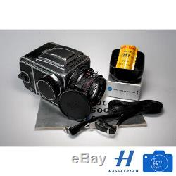 Hasselblad 500C/M Zeiss Planar f 80mm 12.8 lens A12 Back, 6 month Warranty