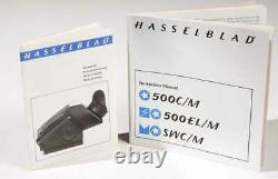 Hasselblad 500C/M wiith 60mm f/3.5 T CF lens Metered Prism A12 Back
