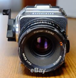 Hasselblad 500C/M with 80mm Planar, WL Finder, A12 Back