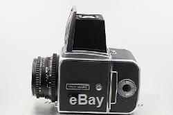 Hasselblad 500C/M with 80mm f2.8 T Planar lens A12 back PERFECT WORKING