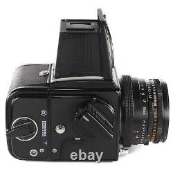 Hasselblad 500C/M with Planar CF 80mm f2.8 + Waist Level Finder + A12 Film Back