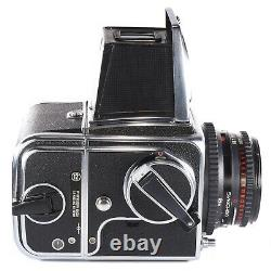 Hasselblad 500C/M with Planar C 80mm f2.8 + Waist Level Finder + A12 Film Back